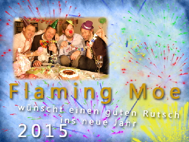 Flaming Neujahr 2015